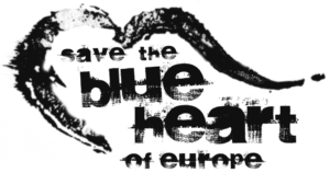 Save the Blue Heart of Europe logo
